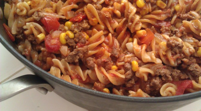 Hamburger Recipe – Homeade Hamburger Helper
